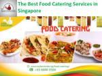 the best food catering services in singapore