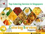 top catering service in singapore