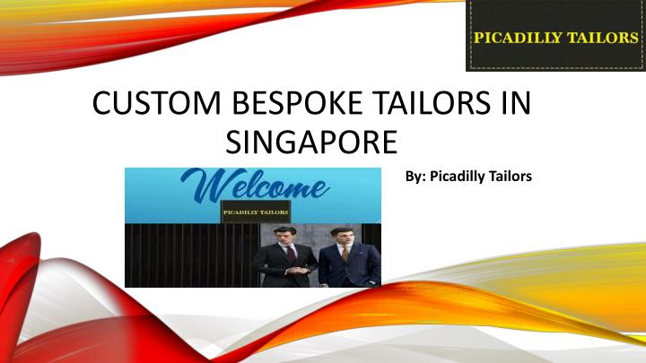 custom bespoke tailors in singapore n.