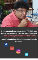 if you want to know more about pillai shyam kumar