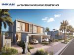 jordanian construction contractors