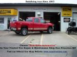 choose rum river automotive as your trusted tire repair maintenance shop near princeton mn
