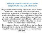 wayscoop buy kurtis online india ladies designer kurti long kurti short kurti 4