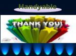 handyable 8