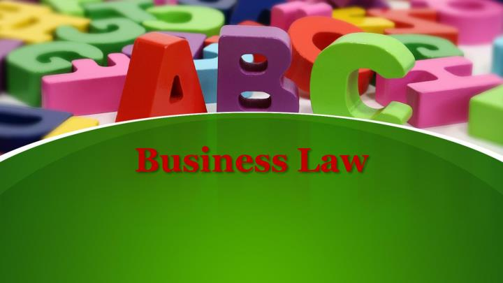 business law n.