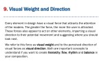 9 9 visual visual weight and direction weight