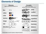 elements of design elements of design
