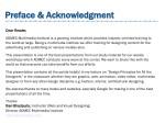 preface acknowledgment preface acknowledgment