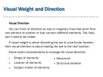 visual weight and direction visual weight 5