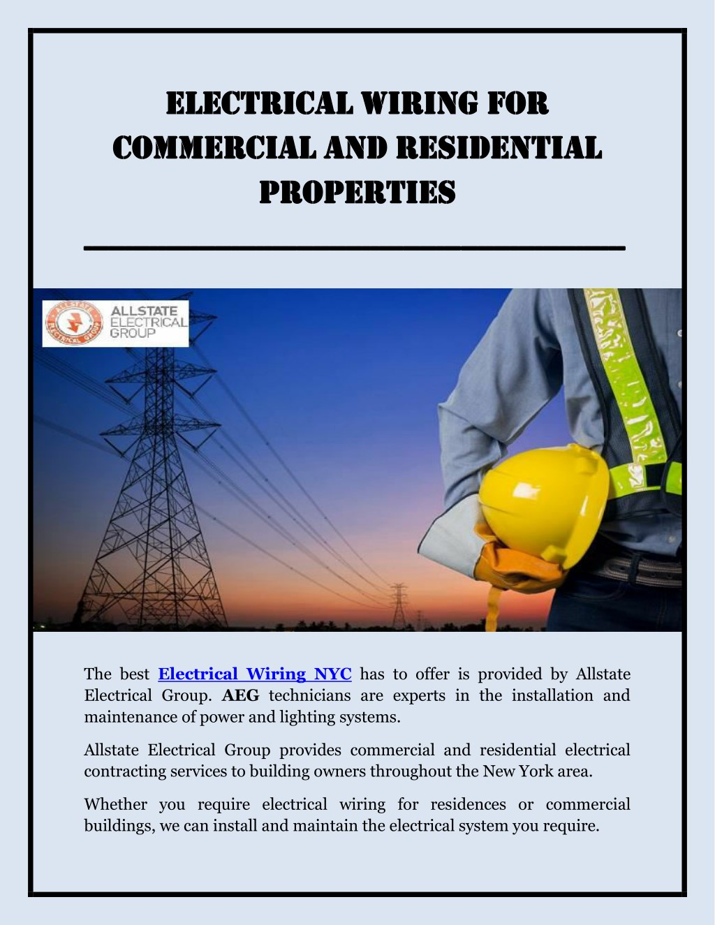 Ppt Licensed Electrician Nyc Powerpoint Presentation Id7775136 Wiring A Commercial Building El Elec Ectr Mme Erc N