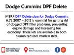 dodge cummins dpf delete