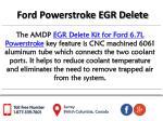 ford powerstroke egr delete