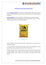 buy modern ultratech cement online in india