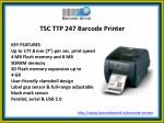 tsc ttp 247 barcode printer
