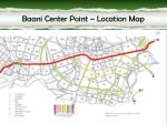 baani center point location map