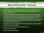 baani center point overview