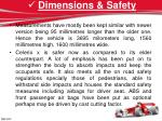 dimensions safety