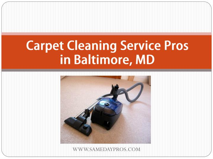 carpet cleaning service pros in baltimore md n.