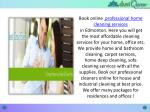 book online professional home cleaning services