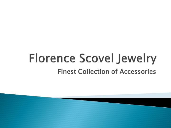 florence scovel jewelry n.