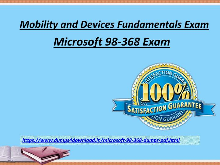 mobility and devices fundamentals exam n.