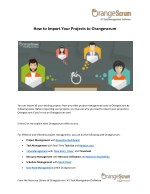 how to import your projects to orangescrum