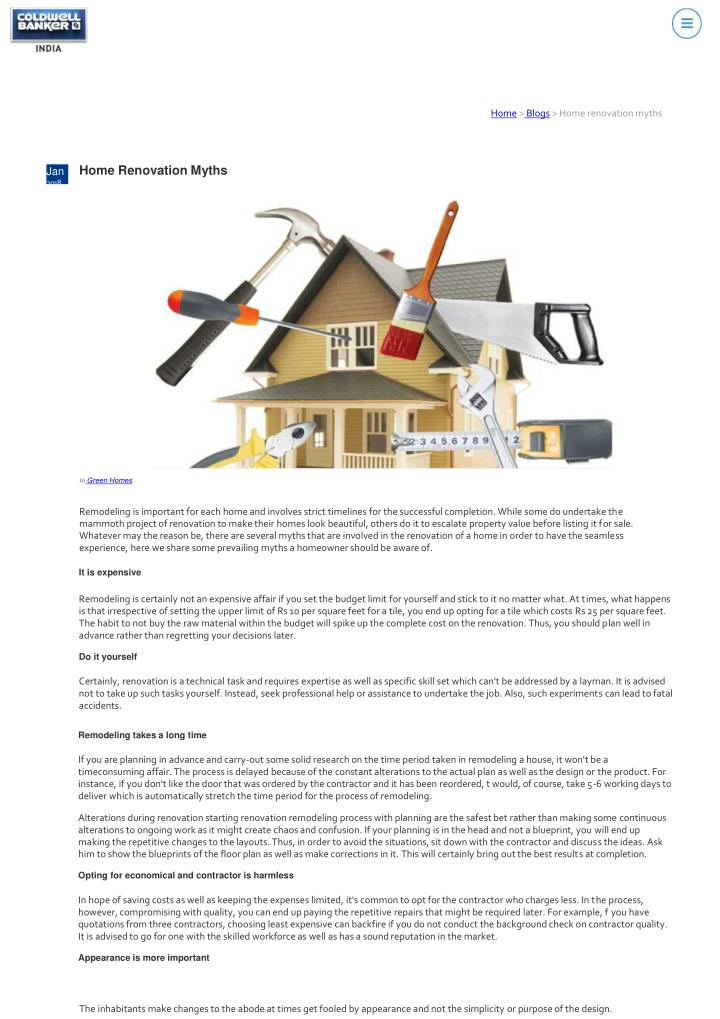 home blogs home renovation myths n.