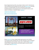 rosava engineering group offer various design