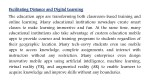 f fa aci cil litating the education apps