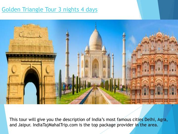 golden triangle tour 3 nights 4 days n.