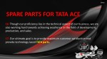 spare parts for tata ace