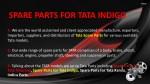 spare parts for tata indigo