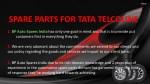 spare parts for tata telcoline