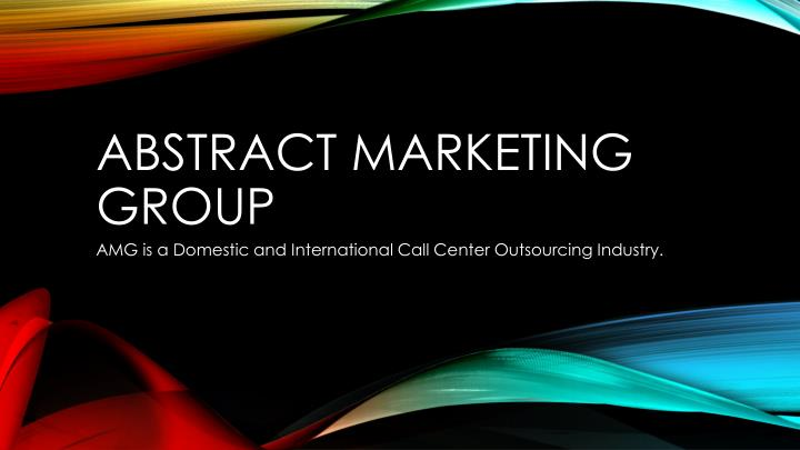 abstract marketing group n.