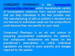 carequest pharmacy is the homeopathic compounding