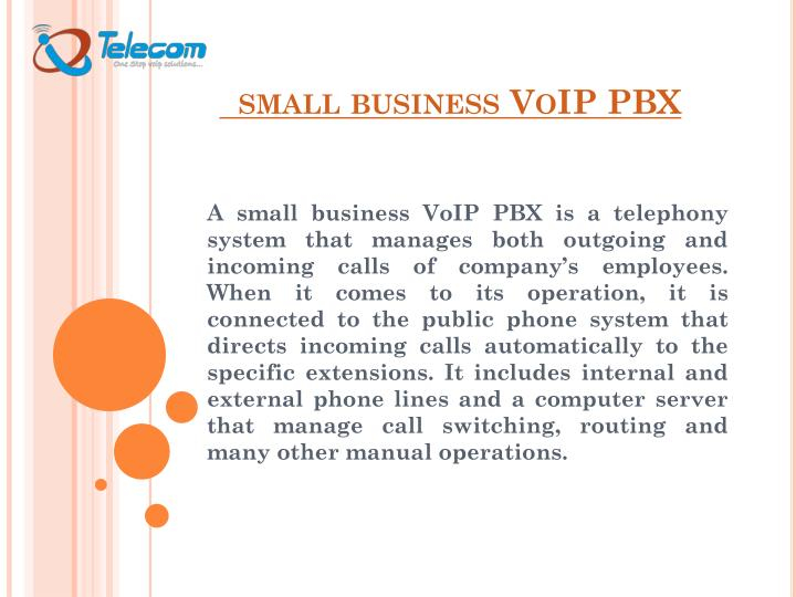 small business voip pbx n.