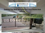 getting the best security for your home