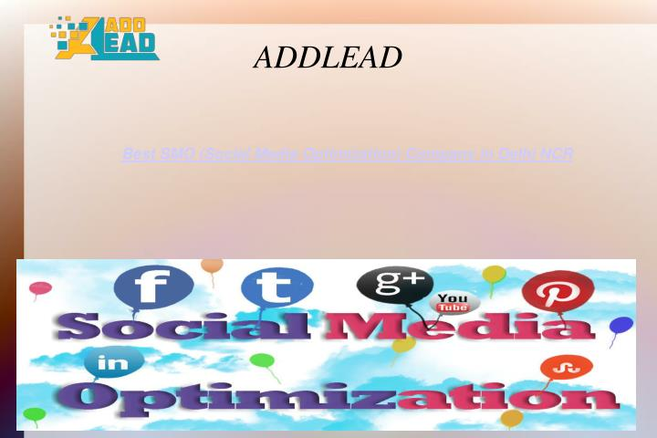 best smo social media optimization company in delhi ncr n.