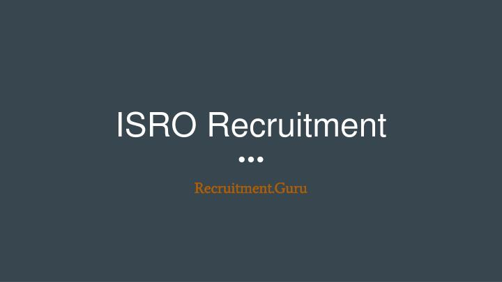 isro recruitment n.