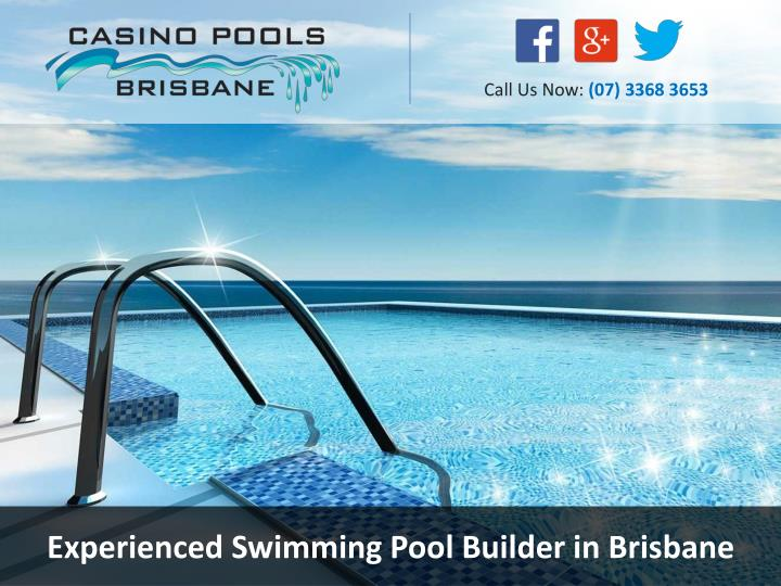 experienced swimming pool builder in brisbane n.