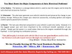 you must know the major components of auto electrical problems