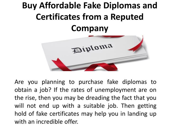 buy affordable fake diplomas and certificates from a reputed company n.