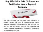 buy affordable fake diplomas and certificates from a reputed company