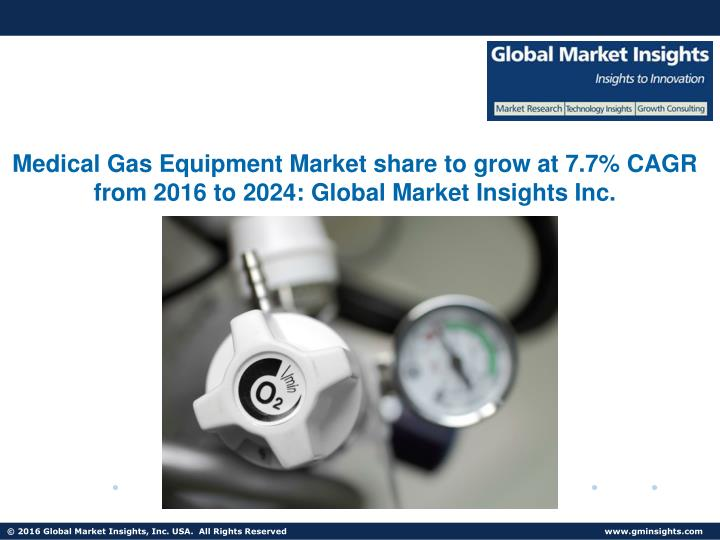 medical gas equipment market share to grow n.