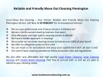 reliable and friendly move out cleaning flemington 1