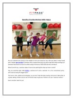 benefits of zumba workout with fitpass