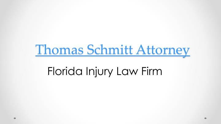 thomas schmitt attorney n.