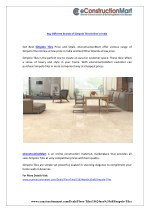 buy different brands of simpolo tiles online