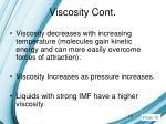 viscosity cont