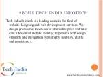 about tech india infotech